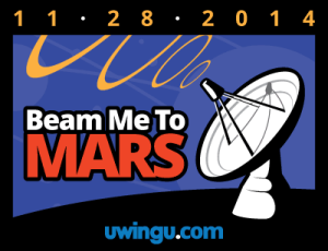 "Check out ""Beam Me to Mars"", a global shout-out to Mars fundraiser!"
