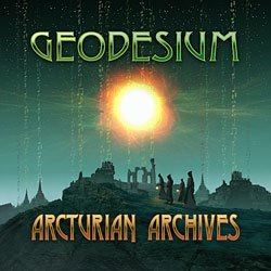 cover for Geodesium 11th album: Arcturian Archives