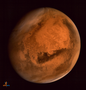 Beam you name to the Red Planet!  Mars Orbiter Mission image, courtesy Indian Space Research Organization.