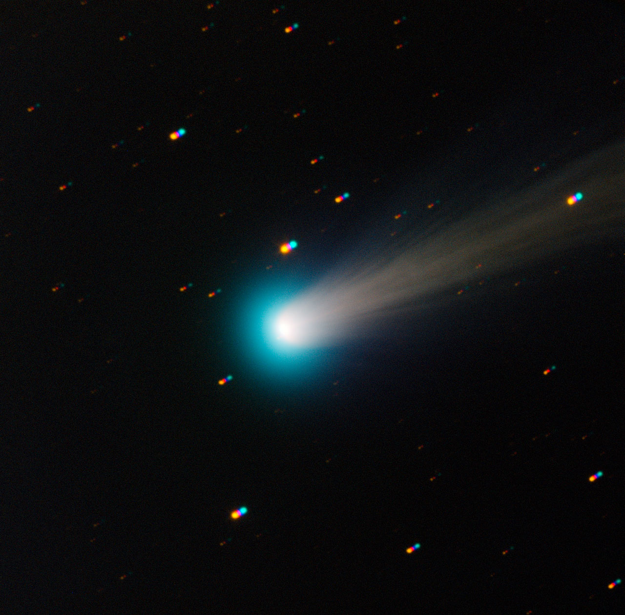 Comet ISON captured by the TRAPPIST national telescope at La Silla, Chile. Courtesy ESO